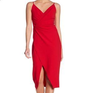 Betsey Johnson Faux wrap dress